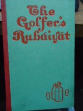 The Golfers Rubaiyat By H.W.Boyngton 1st Edition 1901