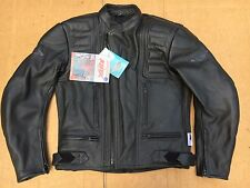 "Weise Mens Leather Motorcycle Motorbike Biker Jacket UK 38"" - 40"" chest (B15#2)"