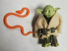 Kenner Star Wars 1980 Yoda Action Figure Orange Snake Near Complete