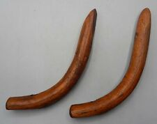 PAIR of Oak Side Supports for Antique Wooden Chair or Other