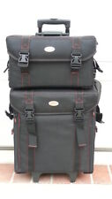Professional makeup cases Ondgo 301(1)Rolling w wheels (2)Deep tray+makeup items