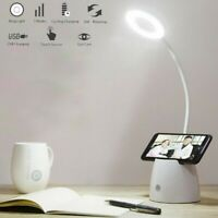 3Modes Dimmable LED Desk Lamp Bedside Reading Lamp Touch Control Night Light