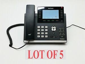 Yealink Verizon SIP-T46S One Talk Gigabit HD IP Office 16-line Phone Lot 5
