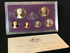 1977 Royal Australian Mint - Silver Jubilee Commemorative - 6 Coin Proof Set