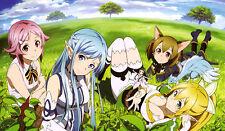 TT066 Sword Art Online Playmats Yugioh MTG Pokemon Vanguard Anime Gaming Mats