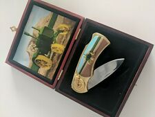 Pocket Knife With Tractor Picture