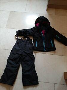 Kids Girls Crane Snow Suit 2 Piece Age 5/6 Years
