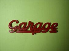ENSEIGNE  GARAGE  POUR  STATION  SERVICE  ROSSIGNOL  VROOM  ACCESSORIES  1/43