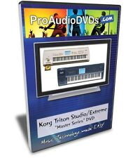 Korg Triton Studio / Extreme DVD Training Tutorial
