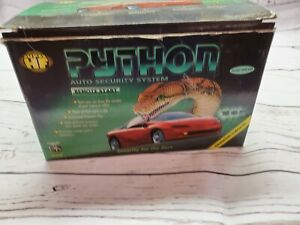 NEW VINTAGE AUTO SECURITY SYSTEM python 1500 esp REMOTE START SUPER HF