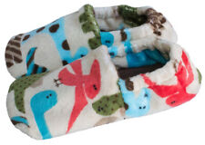 Toddler and Little Kids Slip Resistant House Slipper Shoes - Dinosaurs