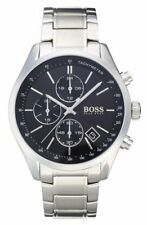 NEW HUGO BOSS HB 1513477 MENS GRAND PRIX CHRONOGRAPH WATCH - 2 YEAR WARRANTY