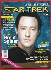 STAR TREK La Rivista Ufficiale n° 2 - Fanucci Editore aprile 1998 - CON POSTER