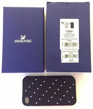 SWAROVSKI 1168921 Swanflower Black Smartphone Case New for IPHONE 4 NWT TAG