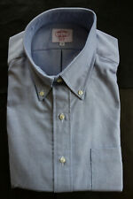 NWOT Mister Mort Blue Oxford Cloth Button Down Collar Medium Classic 15.5-33