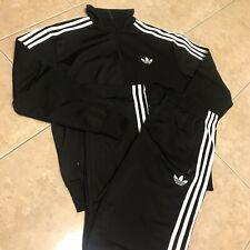 Adidas Men's Adi Firebird Tracksuit - Black, S