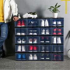 1PCS Sneaker Shoe Box Storage Organizer Dustproof Stackable Fit AJ&Jordan Case
