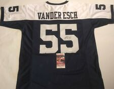Leighton Vander Esch Autographed Dallas Cowboys Jersey JSA Witnessed COA