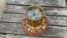Antique Late 19thc Brass Telegraph Relay/Telegraphy - W.Mcwhirter & Son,Glasgow