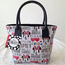 DISNEY MICKEY MINNIE MOUSE Handbag Clutch Purse Shopper Bag W 27 x H 18 cm (S).