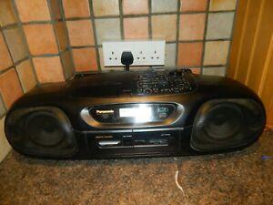 Panasonic RX-DT55 CD Radio Cassette Recorder  RARE VINTAGE BOOMBOX
