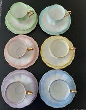 More details for royal albert rainbow tea set
