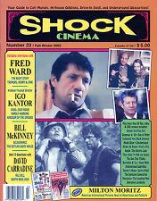 Shock Cinema #23 Steve Puchalski Fred Ward Bill McKinney David Carradine