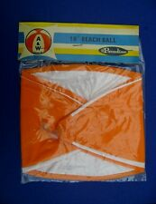 1970s A&W DRIVE-IN 16 INCH INFLATABLE BEACH BALL  **UNOPENED**