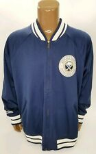 CCM RETRO BUFFALO SABRES THROWBACK VARSITY STYLE JACKET - SIZE 2XL