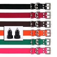 E Collar Compatible Models 300,400,900  Barkless BL-100 - 3/4 Inch Biothane+CP