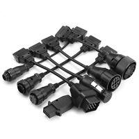 8pcs OBD2 Full Set Truck Cable Herramienta de Diagnóstico para Mercedes-Benz Vol