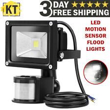 Outdoor LED Flood Light Auto Activated Motion Sensor Detector Lamp Spot Lights