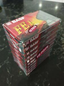 BASF FE1 Ferro Extra Cassette Tape (10-pack)