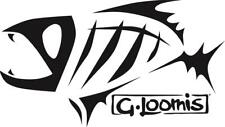 G Loomis logo vinyl decal / sticker lines / lures / Angling decal tackle box