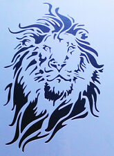 Stencil Schablone Textilgestaltung Airbrush Löwe  A 4   S 009