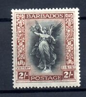 Barbados 1920 2/- black & brown SG210 mint LHM WS17821