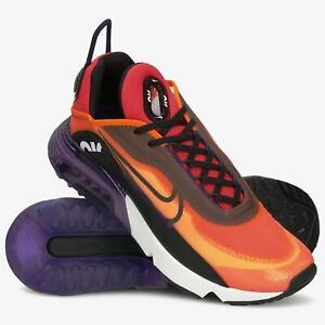 Nike Air Max 2090 BV9977-800 Mens Magma Orange Black Running Shoes Size US 11