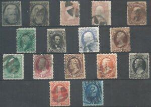 Briefmarken USA - kleines Klassik-Lot 001M