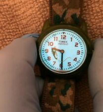 Vintage Kids Timex Indiglo Helicopter Watch - Rotating Helicopter