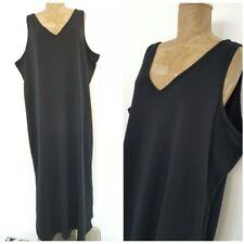 New Maxi Dress Size 22-24 Plus Black Long Sleeveless Summer Jumper Size XXLarge