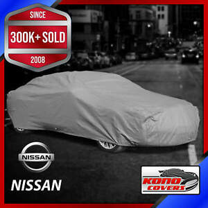 NISSAN [OUTDOOR] CAR COVER ✅All Weather ✅Waterproof ✅Full Body ✅CUSTOM ✅FIT