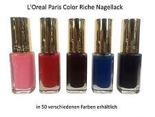 L´Oreal Nagellack Nail Polish Color Riche loreal NEU *Farbauswahl*