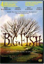 New Dvd Big Fish Tim Burton - Sealed