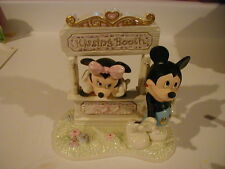 Lenox Kisses for Mickey with Minnie Kissing Booth Disney Showcase  Figurine