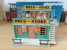 PLAYMOBIL DRUG-STORE 3462 Complet avec boite d'originr