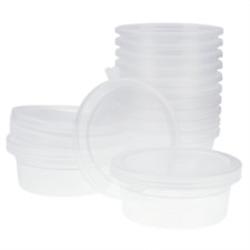 Opount 12 Pack Foam Ball Storage Containers with Lids for 20g Slime