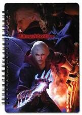*NEW* DMC Devil May Cry 4 Cover Art Spiral Notebook