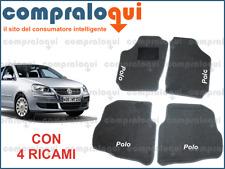 2009/> 2 RICAMI TOP TAPPETINI PER AUTO SU MISURA PER VOLKSWAGEN POLO 5