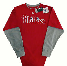 Philadelphia Phillies Majestic MLB Team Long Sleeve T-Shirt Big & Tall Sizes
