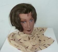 NY & Co Maize & Brown  Rayon Georgette Rectangular Scarf  Made in India
